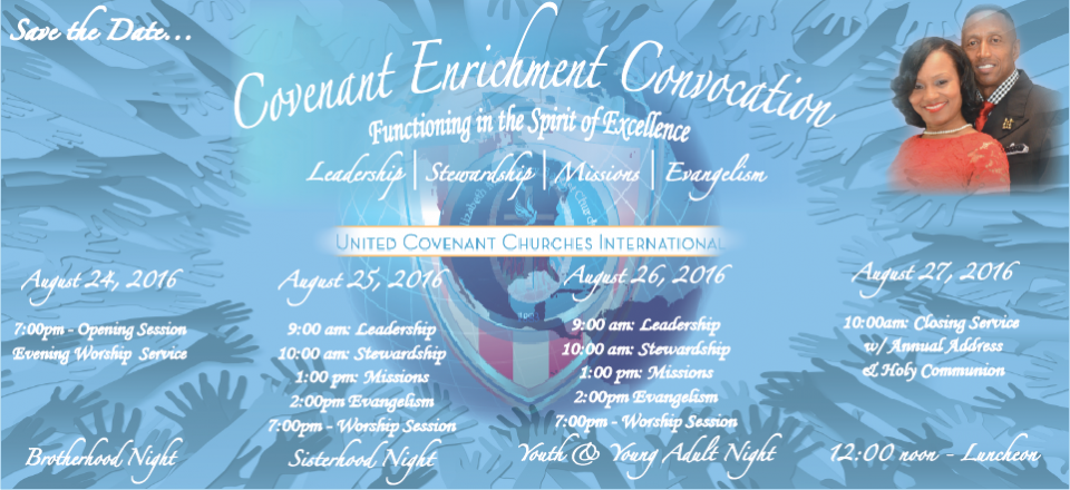 Covenant Enrichment Convocation 2016